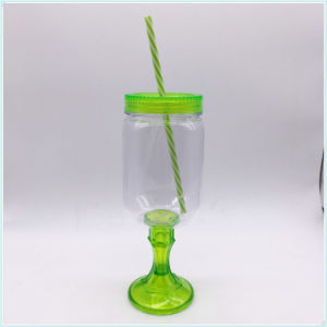 Custom Printed Disposable Pet PP Plastic Juice Cups and Lids pictures & photos