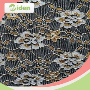 Embroidery Net Lace 100 Nylon Lace Fabric for Women Underwear pictures & photos