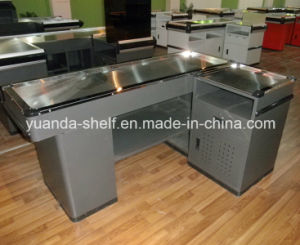 Supermarket Retail Store Used Cashier Checkout Counter for Sale pictures & photos