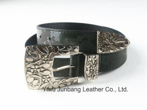 Latest Western Style PU Leather Women′s Belt --Jbe1624 pictures & photos
