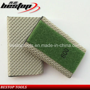 800#/1500#/3000# Drainer Groove Resin Hand Polishing Pad for British Market pictures & photos