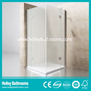 Hinger Door Ground Glass Double Doors Selling Simple Stainless Steel Hardware Aluminum Shower-Se710m