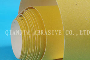 115mm*5m Yellow Color Wood Sanding Paper Roll