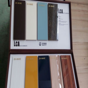 New Arrival 2016 Scratch Proof Acrylic MDF for Kitchen Cabinet Door (LCA-1601) pictures & photos