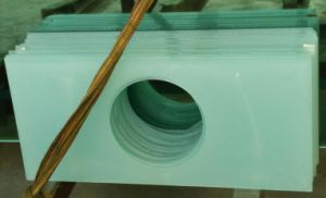 Conch Fixed Window Ventilator with Hole on Glass for Exhausting Fan pictures & photos