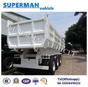 U-Shape Tipper Trailer Cargo Dumper Semi Truck Trailer for Sale pictures & photos