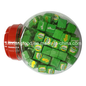 Choco Cube Candy in Jar pictures & photos