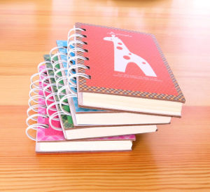 Small White Spiral Binding Notebooks pictures & photos
