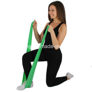 Fashion Fitness Fitness Yoga Elastic Resistance Band, Custom Resistance Exercise Band pictures & photos