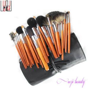 30PCS Professional High-Grade Cosmetic Tool Wood Handle Natural Hair Makeup Brush