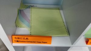 Continuous Computer Paper for Tax Compay, Government Using pictures & photos
