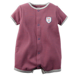 High Quality Soft Pure Cotton Infant Romper Striped Baby Clothes pictures & photos