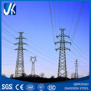 High Quality Steel Angle Power Transmission Tower pictures & photos