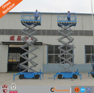 10m New Tachnology Towble Aerial Working Platform Scissor Lift Ce pictures & photos