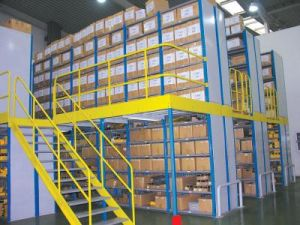 Galvanized Heavy Duty Storage Steel Grating Shelves pictures & photos