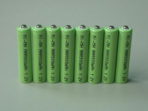 AAA 900mAh Ni-MH Battery 1.2V