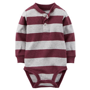 Pure Cotton 0-12month Long-Sleeve Infrant Romper Baby Clothing pictures & photos