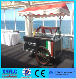 Moving Popsicle Gelato Ice Cream Carts for Sale pictures & photos