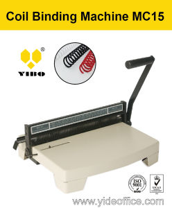 Manual Punch Coil Binding Machine Mc15 pictures & photos