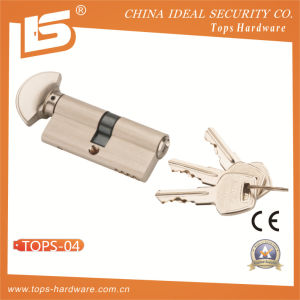 High Quality Brass Lock Cylinder (TOPS-04) pictures & photos