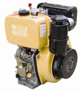 Small Air Cooed Single Cylinder Diesel Engine pictures & photos