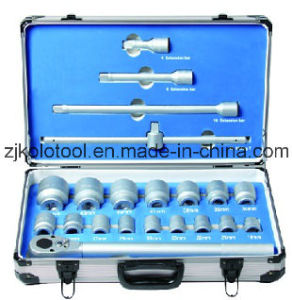 "21PCS 3/4"" Dr. Socket Wrench Combination for Shop Truck Impact Wrench pictures & photos"