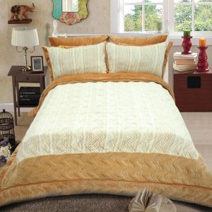 High Quality Light Color Comforter Patchwork Quilt From Factory