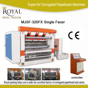 Cubic Model Single Facer Machine High Speed Low Price pictures & photos