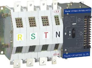 PC Class Na, N, C, Type Dual-Power Automatic Transfer Switch Two Section 160A-400A pictures & photos