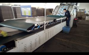 China Semi-Automatic Flute Laminator Best Price for Sale pictures & photos