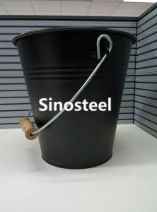 Metal Coal Bucket & Scuttles, Coal Hod, Antique Coal Bucket with Lid & Shovel pictures & photos