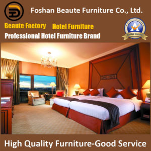 Hotel Furniture/Luxury Double Bedroom Furniture/Standard Hotel Double Bedroom Suite/Double Hospitality Guest Room Furniture (GLB-0109851) pictures & photos