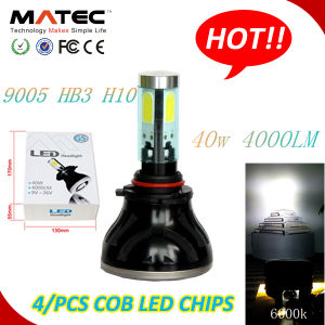 40W 4000lm 360degree Hb3 H10 9005 LED Headlight Bulbs pictures & photos