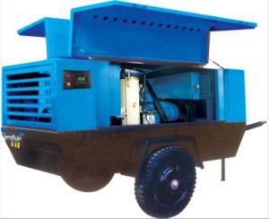 Road Building Electric Driven Mobile Portable Air Compressor (PUE185-08) pictures & photos