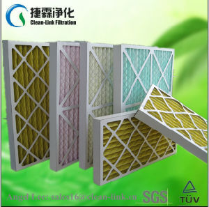 Hot Sale Paperboard Frame Pleated Filter pictures & photos