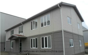 Low Cost Two Story Steel Prefabricated House pictures & photos