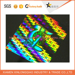 Paper Anti-Fake Adhesive Label Printing Anti-Counterfeiting Hologram Sticker pictures & photos