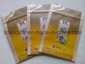 Tea Aluminum Foil Ziplock Plastic Packaging Bag pictures & photos