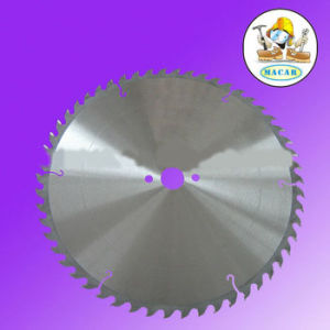 Tct Saw Blade for Wood Cutting with Noise Reduction Slot pictures & photos