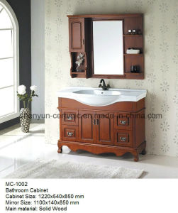 Bathroom Furniture Bathroom Cabinet with Wash Basin (MC-1002) pictures & photos