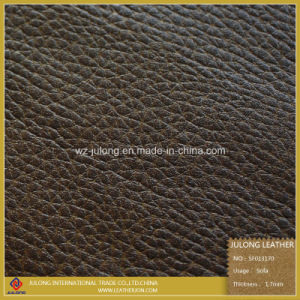 Upholstery and PU Synthetic Furniture Material Leather (SF013) pictures & photos