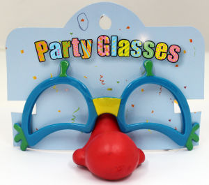 Party Glasses with Clown Nose