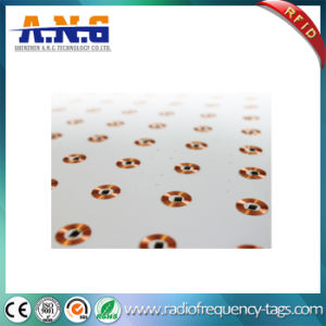 Copper Round 125 kHz Dry RFID Inlay with ISO 11785 pictures & photos