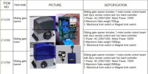 Automatic Sliding Gate Opener, Sliding Gate Operator pictures & photos