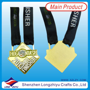 Wholesale Metal Medal with Black Ribbon pictures & photos