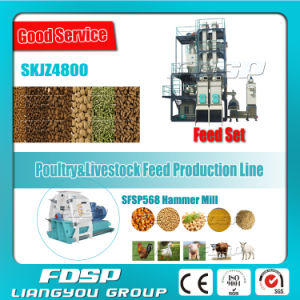 Good Service Feed Mill Plant for Piglet Feed (SKJZ4800) pictures & photos