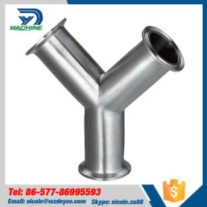 Hygienic Stainless Steel Ferrule Equal Tee pictures & photos