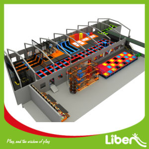 for Both Kids and Adults Ce Approved Trampoline Park pictures & photos