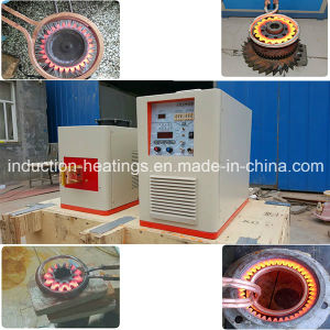 Ultrahigh Frequency Induction Heating Machine for Gear Ring Hardening GS-20kw pictures & photos