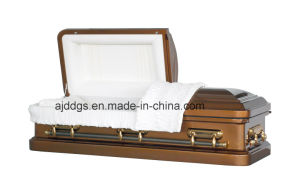 American Style Steel Coffin (18048156) pictures & photos